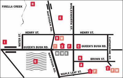 Wellesley Village Map